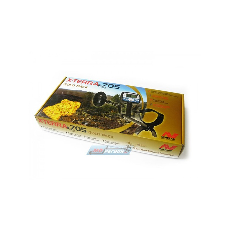 Металлоискатель minelab x-terra 705 gold pack купить в интер.